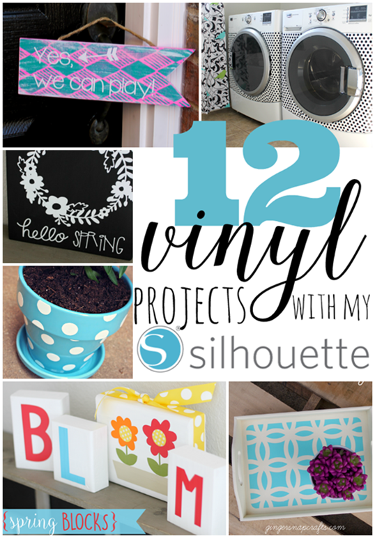 12 Vinyl Projects with my Silhouette at GingerSnapCrafts.com #Silhouette #SilhouetteRocks #vinyl_thumb[2]