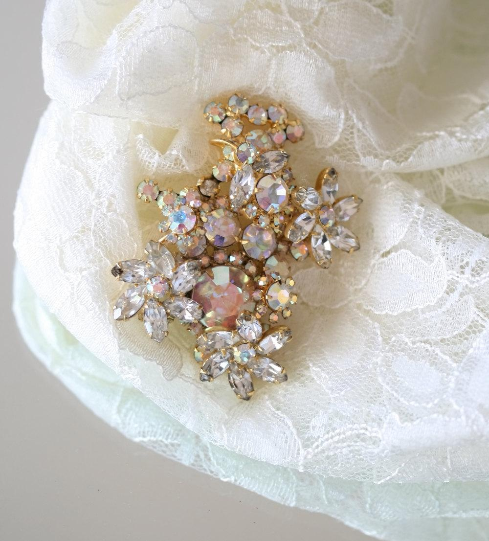 Brooch, Wedding Dress,