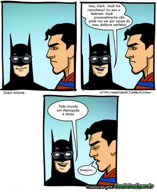O BATMAN É UM TROLLADOR MESMO