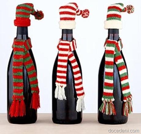 garrafas para o Nata7l