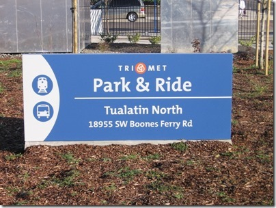 IMG_5077 TriMet Westside Express Service Station Sign in Tualatin, Oregon on January 15, 2009