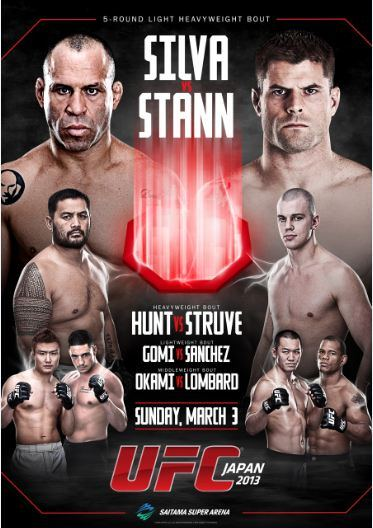 UFC on Fuel 8 Wanderlei Silva - Brian Stann (03.03.2013) PL.TVRip.XviD / PL