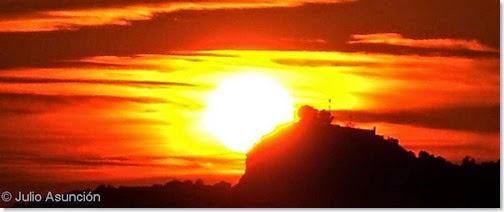 Benidorm - Puesta de sol