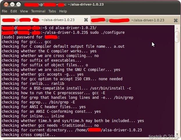 cara menginstall/compile sound card pada ubuntu 2