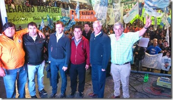 El intendente de La Costa encabezó el acto del Día de la Lealtad Peronista