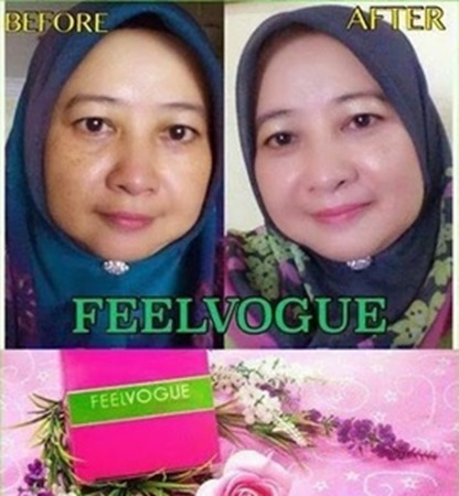 testimoni feel vogue foundation