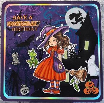 Eileen - spooky birthday