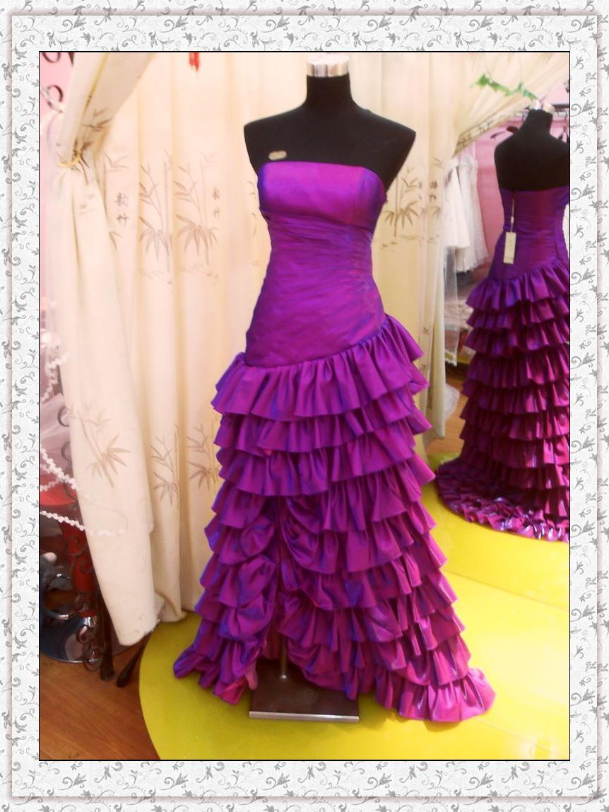Real Wedding Dress Photos Rd-17 . Features: 1.Fabric: taffeta, beading