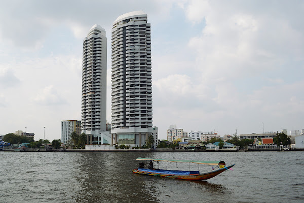 река чао прая бангкок