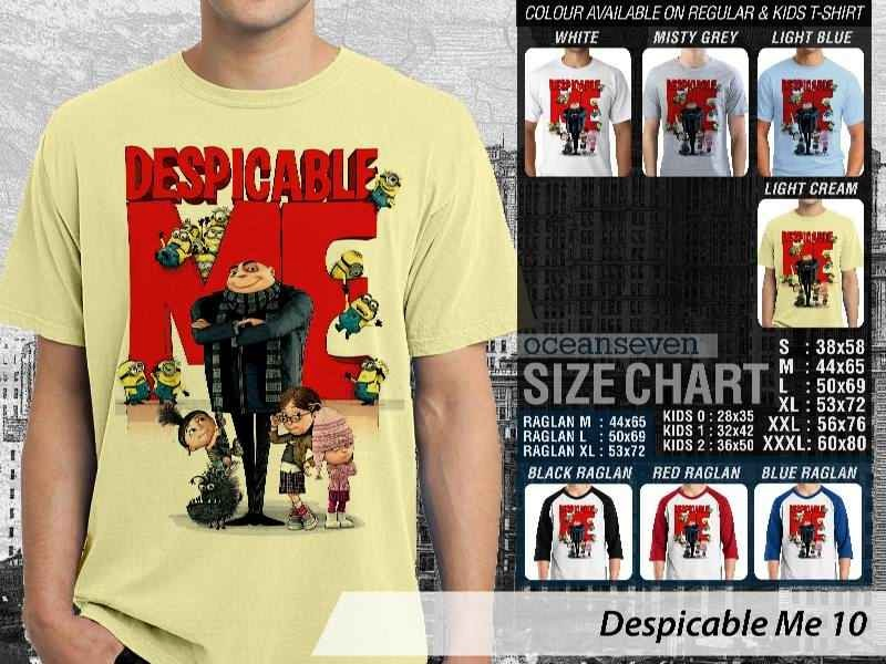 KAOS Despicable me 10 Movie Animation distro ocean seven