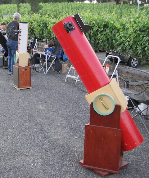 Two Dobson Telescopes, six inch and eight inch,