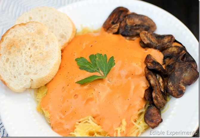 Creamy Italian Roasted Red Pepper Sauce (Vegan) (2 of 3)