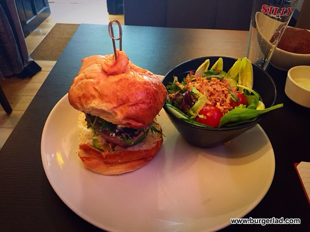 Brussels Burgers Sea Folies Burger