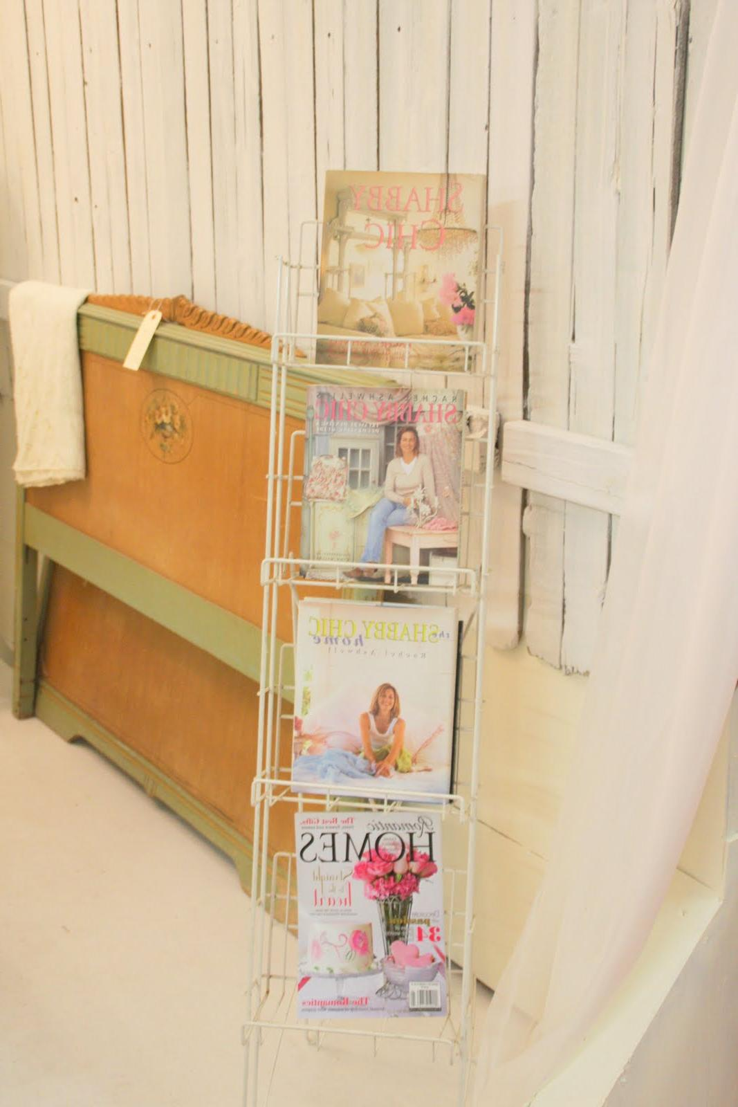 Shabby Chic books  middle two