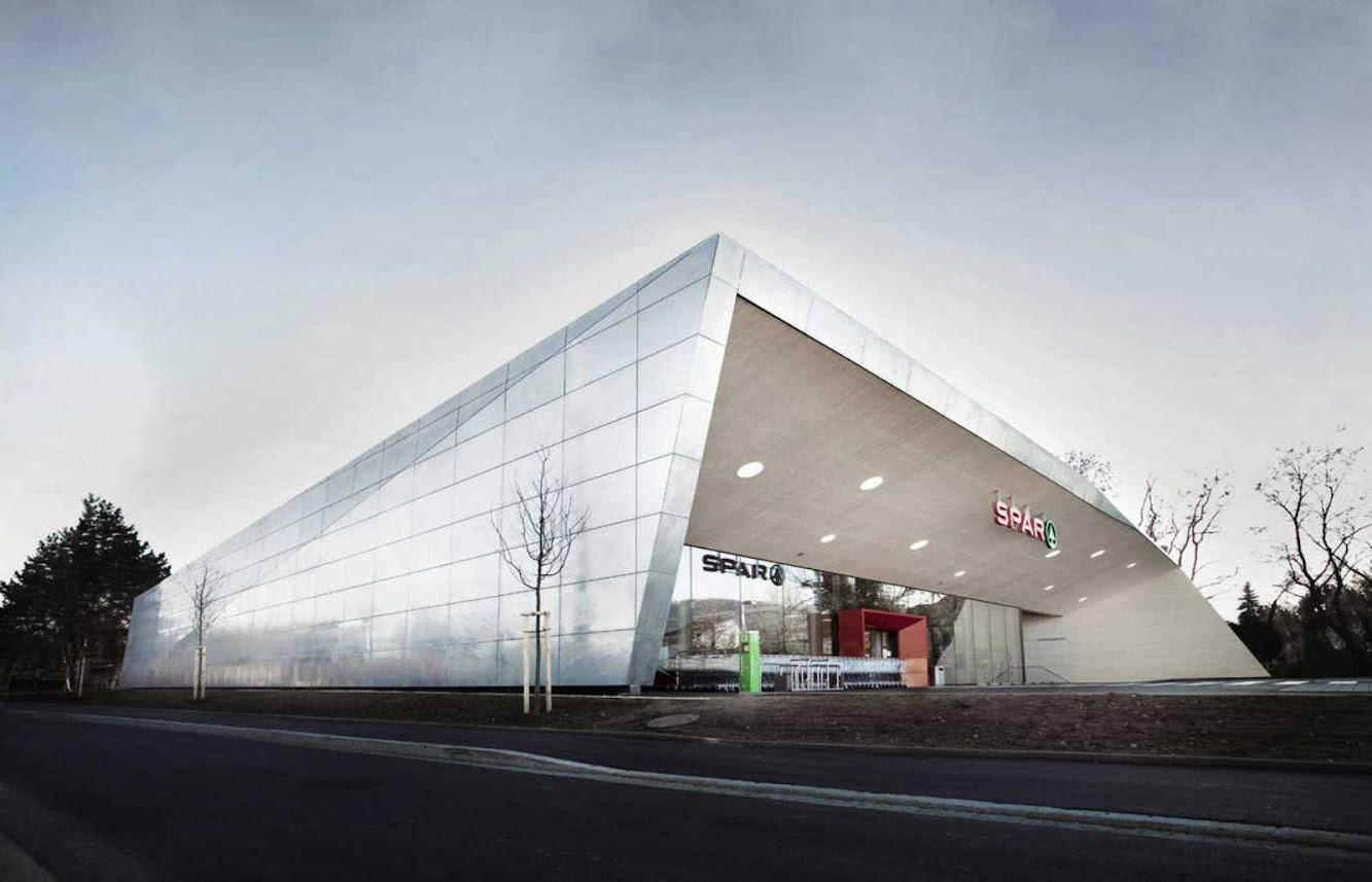 Retail: CLIMATE PROTECTION SUPERMARKET by LOVE ARCHITECTURE