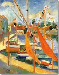 Henri Manguin, el 14 de julio en Saint-Tropez, 1905