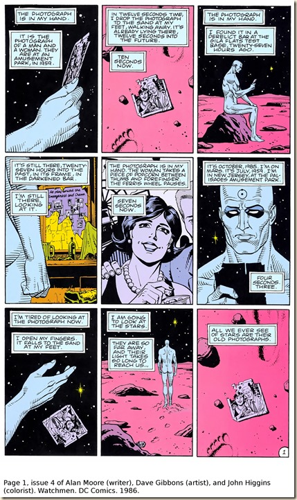 Moore, Gibbons, Higgins. Watchmen. #4.p1