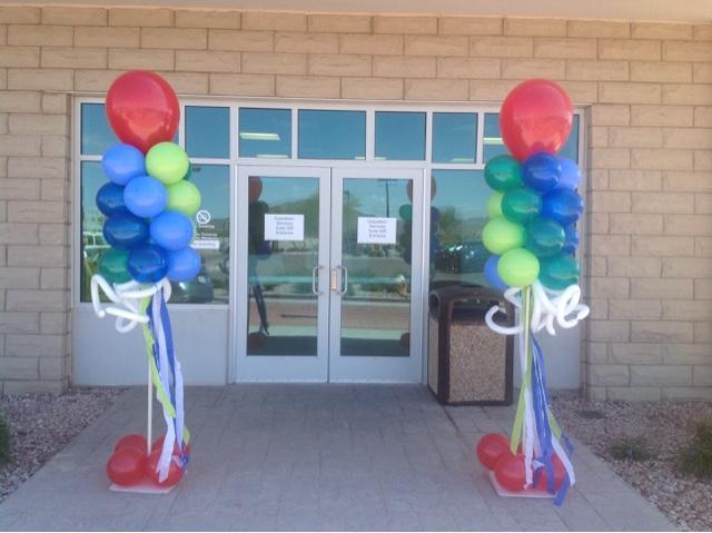 Cherri's Balloons: Office grand opening // Mesa Arizona balloons