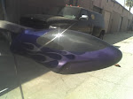 My Vario canopy done with Auto Air Color Nightmare Blue and their 4400 series color shift Teal/Purple