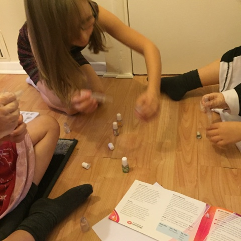 creating invent-a-scent perfumes