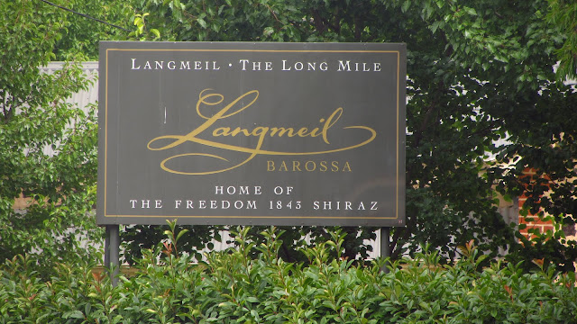 Langmeil Winery - home to a very old and rare Shiraz.