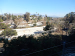 You can see the Pasadena Freeway