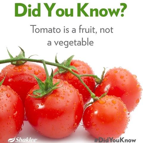Tomato Adalah Buah
