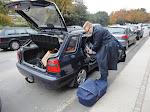 1. Køretur i Škoda'en
