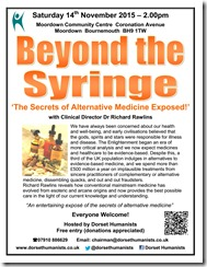 Beyond the Syringe 14th November 2015