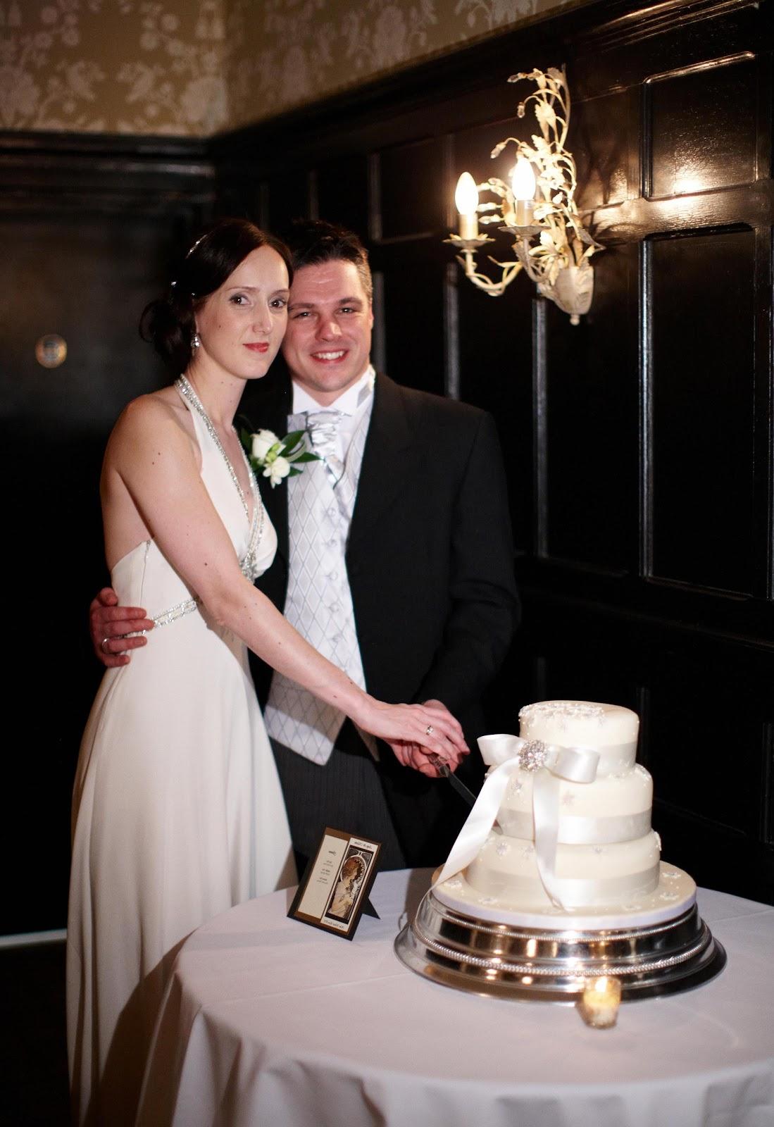 Wedding garter set navy blue