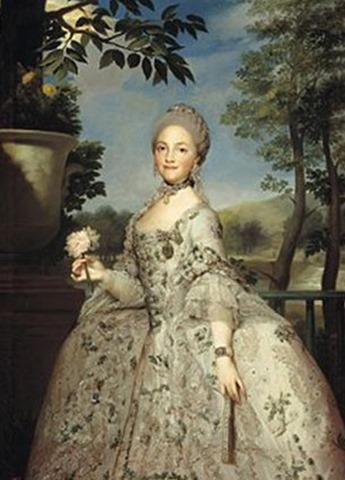María Luisa de Borbón-Parma, Antón Rafael Mengs (Museo del Prado)