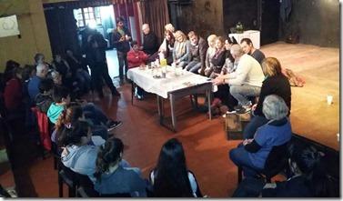 El intendente del Partido de La Costa, Juan Pablo de Jesús,  mantuvo un encuentro con integrantes de la Comedia Municipal de Teatro