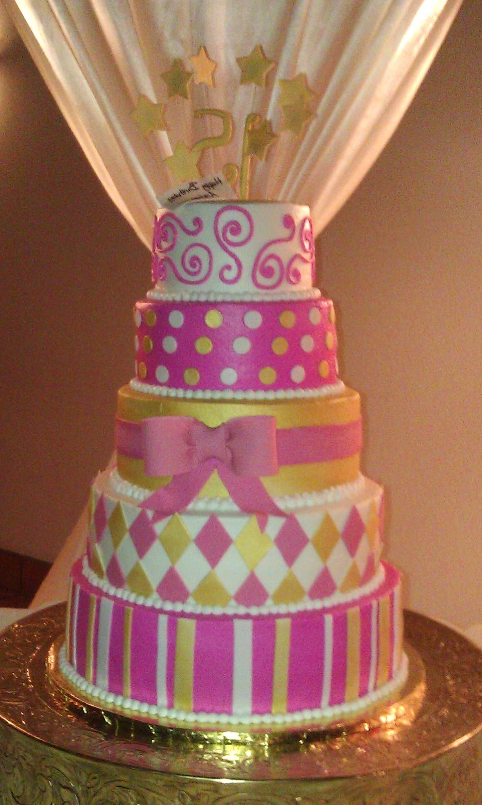 wedding and quinceanera cake