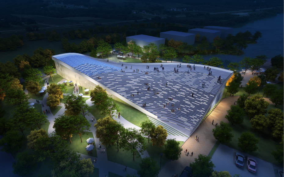 Pechino, Cina: [GREEN VISITOR CENTER BY JDS ARCHITECTS]