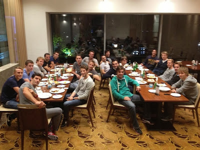 традиционный ужин и заседание GPDA на Гран-при Кореи 2013