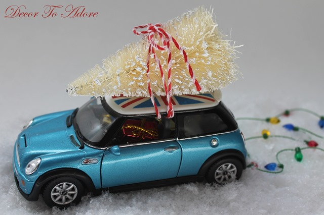 Christmas Car DIY Kit 012