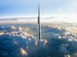 Arab Saudi Membangun Gedung Tertinggi Di Dunia Yang Ketinggiannya Hingga Menembus Awan