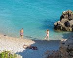 Ionian sea, Palase beach.