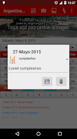 Screenshot of Argentina Calendario 2015