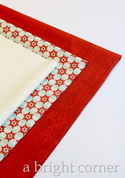Christmas pillow tutorial 3