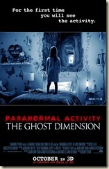Paranormal Activity The Ghost Dimension poster