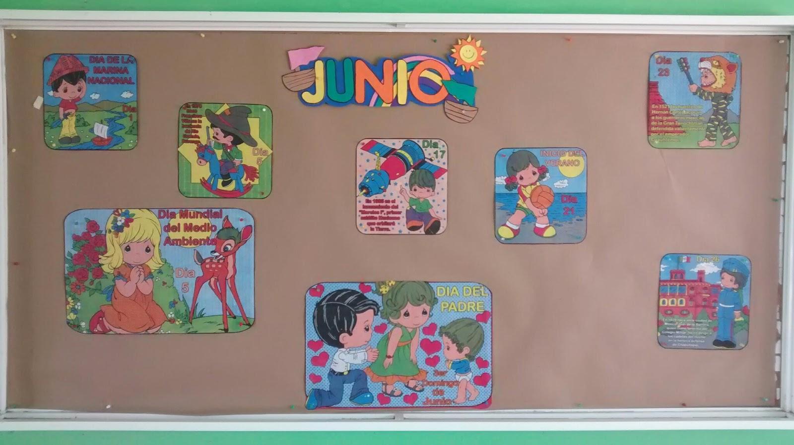 Escuela Primaria Nicolás Bravo Nuestro Periódico Mural De Junio 2015
