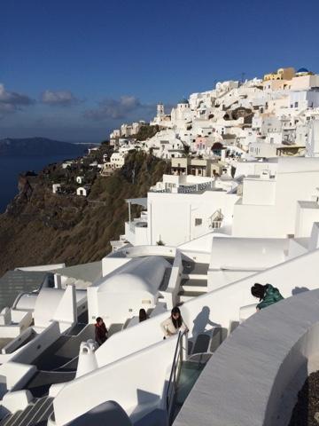 Overlanding Greece: Not Overlanding, Santorini