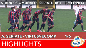 Seriate - VirtusVecomp - Highlights del 09-11-2014