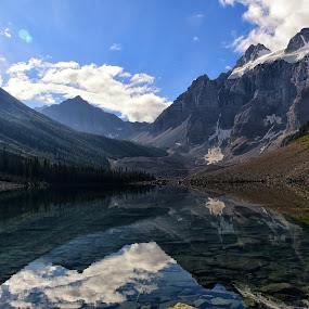 Consolation Lake by Gosha L - Landscapes Mountains & Hills ( mountain, nature, lake, travel, landscapes,  )