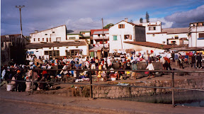 In the capital city of Tana, there's one spot where many people gather to do their hand-washed laundry.