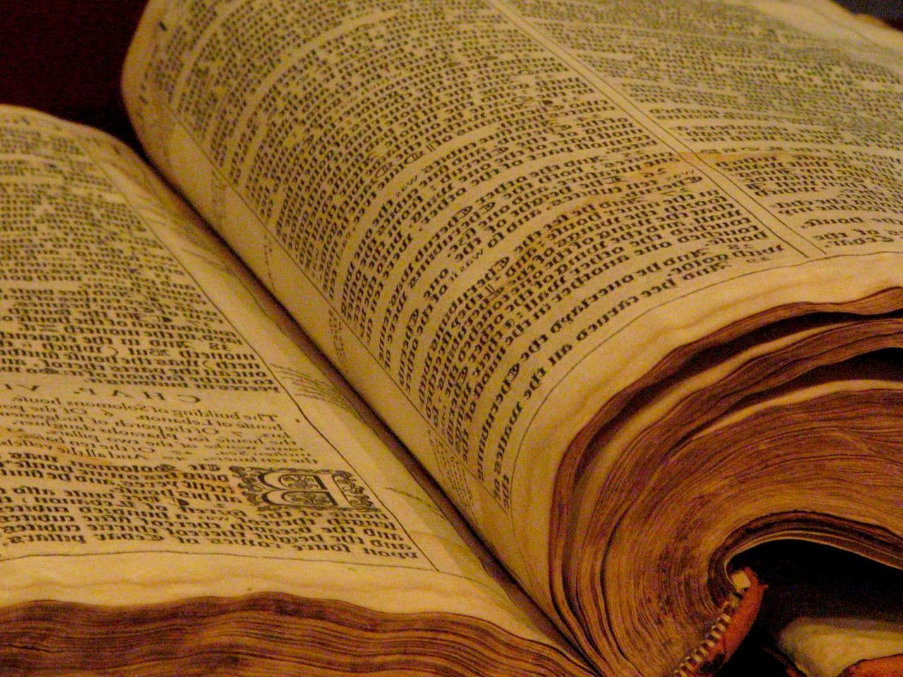 Ye olde Bible hailed as