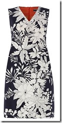 Sportmax Code tropical print dress