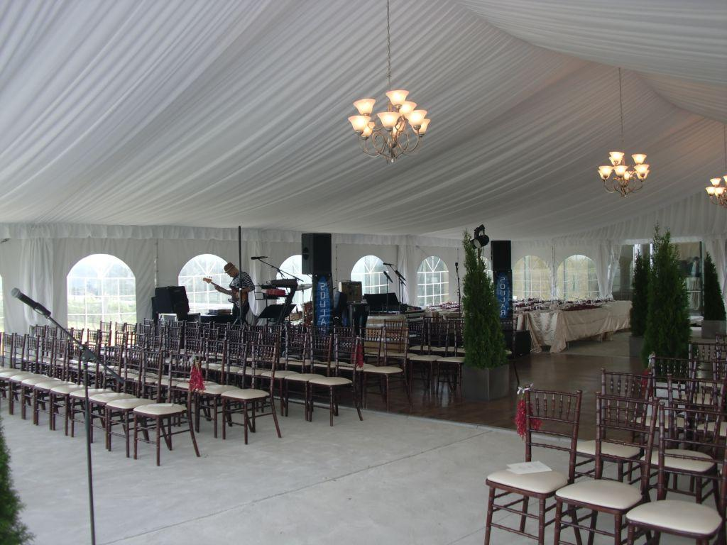 Our tent rental inventory also