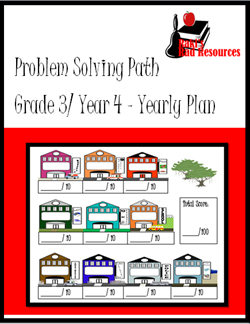 Back to School Tip - Take time now to print and bind together what your students will need, like this year long packet of Problem Solving Path journals - for the entire school year. This helps your save time, sanity and quality teaching practices later. Suggestions from Raki's Rad Resources